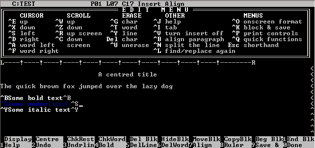 The world of word processing from the view of George R.R. Martin
